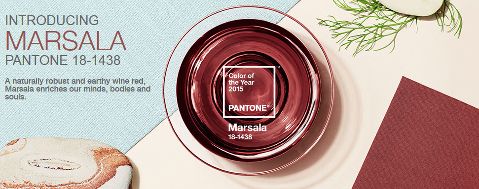 Marsala: Pantone's Color of the Year