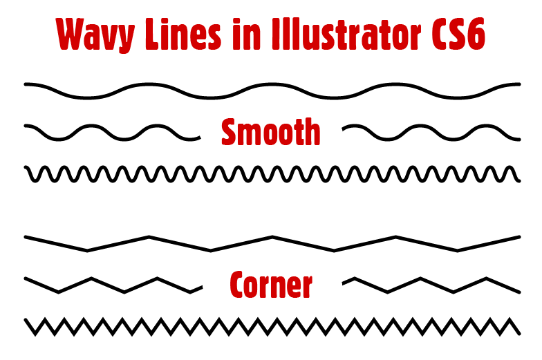 Wavy Lines in Illustrator