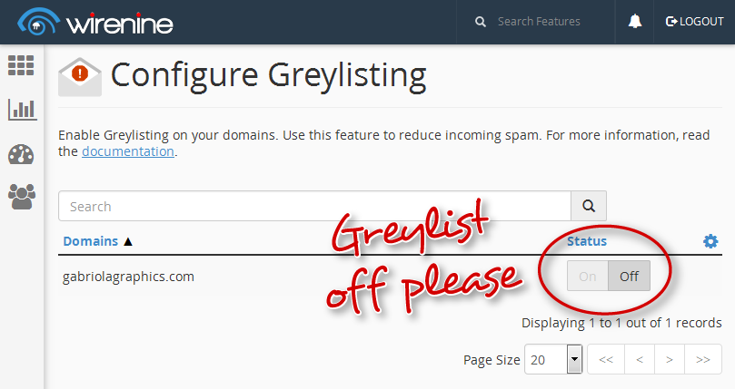 Slow Email? Check Greylisting Settings